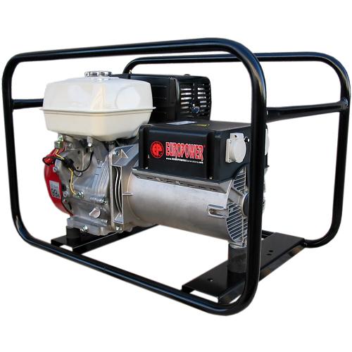 Генератор бензиновый Europower EP 6500 T 3X230V для ж/д в Карасуке