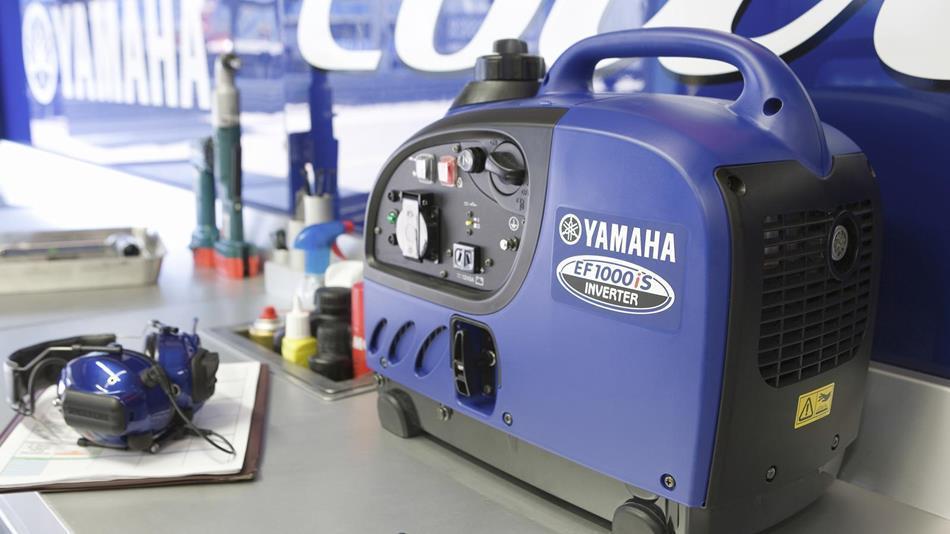Генератор Yamaha EF1000 в Карасуке