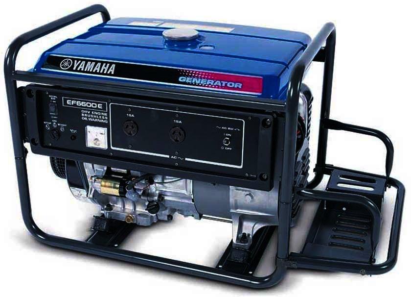 Генератор Yamaha  EF6600E в Карасуке