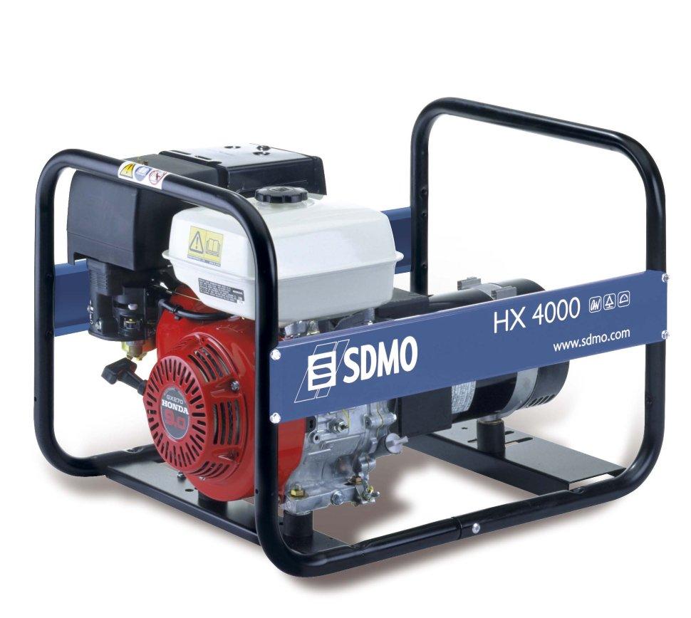 Генератор SDMO HX 4000-S в Карасуке