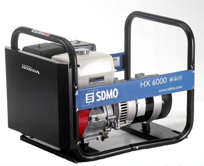 Генератор SDMO HX 6000-S в Карасуке