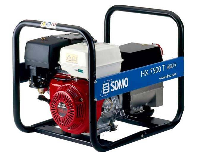 Генератор SDMO HX 7500 T-S в Карасуке